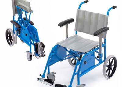Folding portering chair